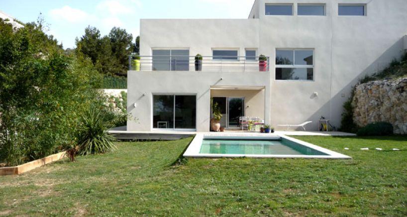 Maison d'architecte Villeneuve les avignon (30)