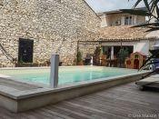 Maison de village Rochefort du gard, 7 pi�ce(s)